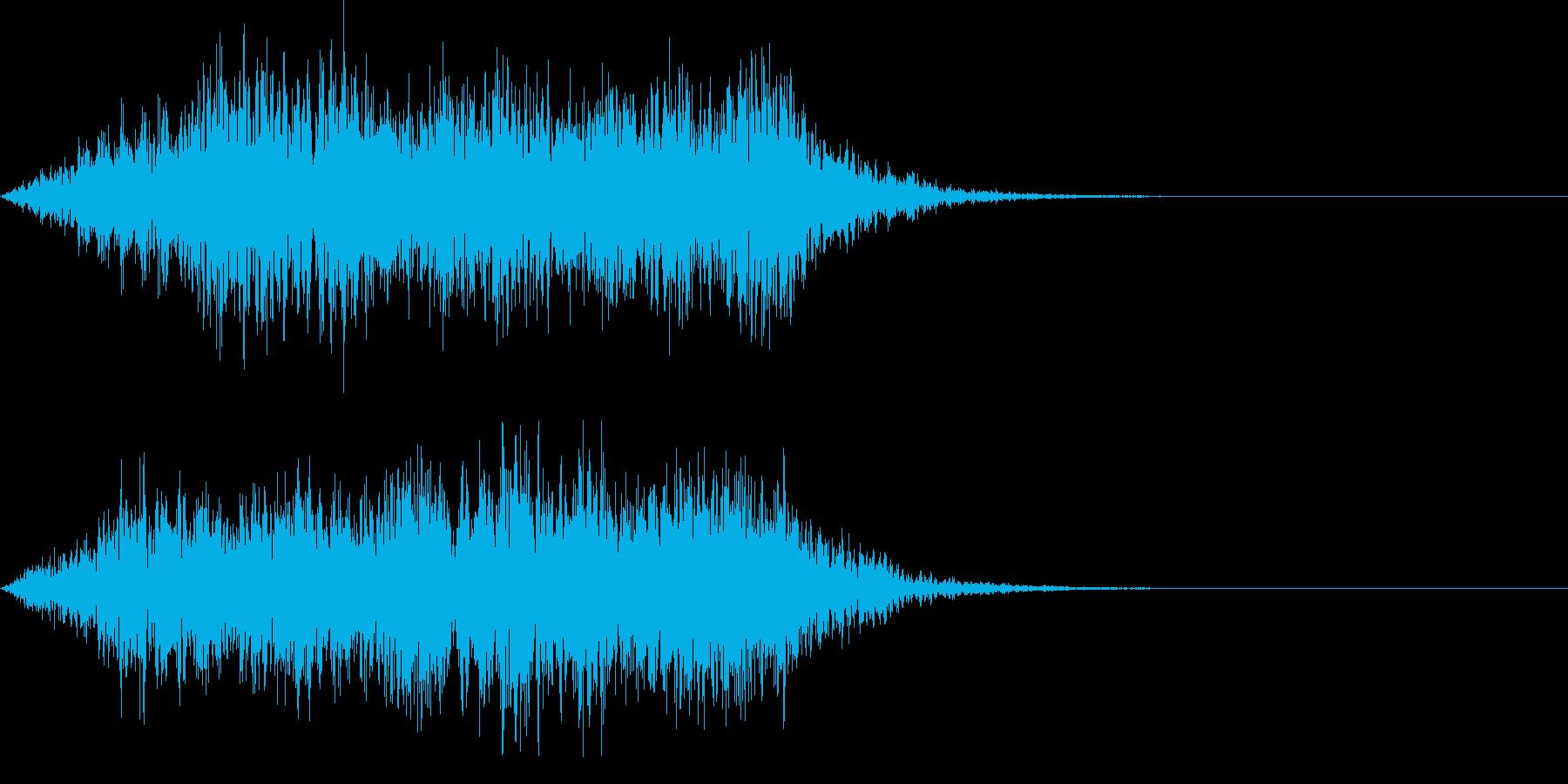 不思議な音05の再生済みの波形