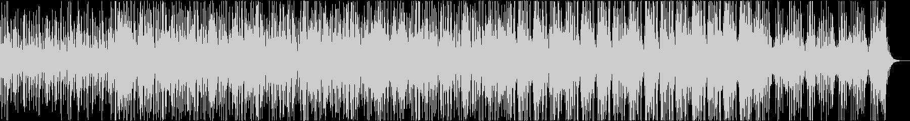 グリッチ系シンセテクノの未再生の波形