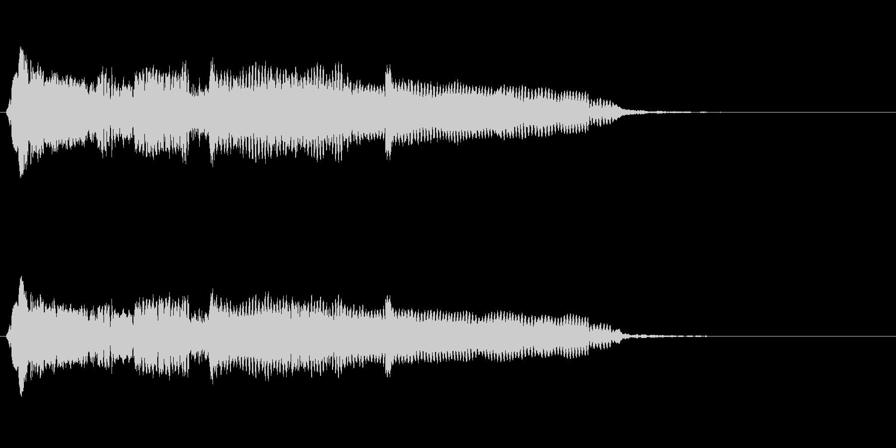 音侍SE「尺八フレーズ1」エニグマ音14の未再生の波形
