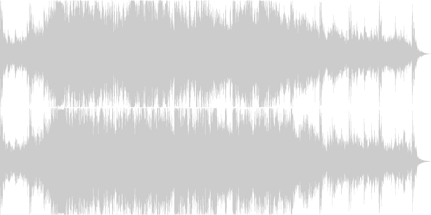 わくわく感のあるエスニックオーケストラ曲の未再生の波形