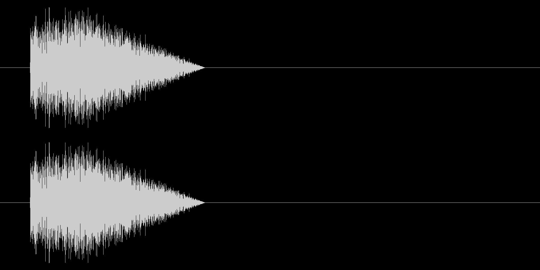 SNES シューティング01-04(発射の未再生の波形