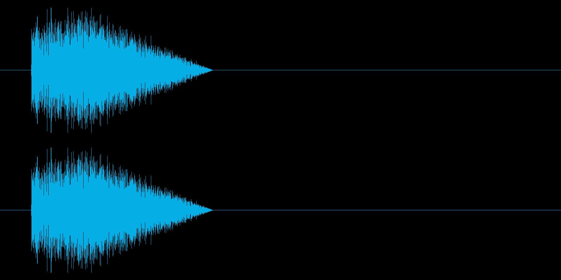 SNES シューティング01-04(発射の再生済みの波形