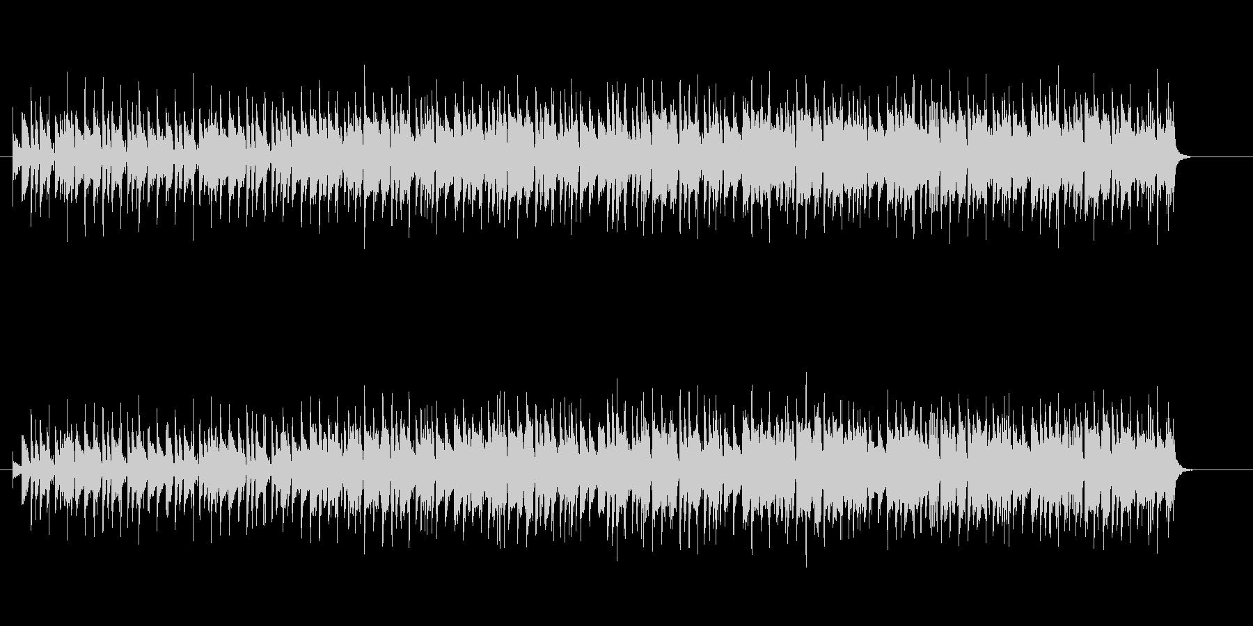 ヘヴィーなマイナー・ギター・フュージョンの未再生の波形