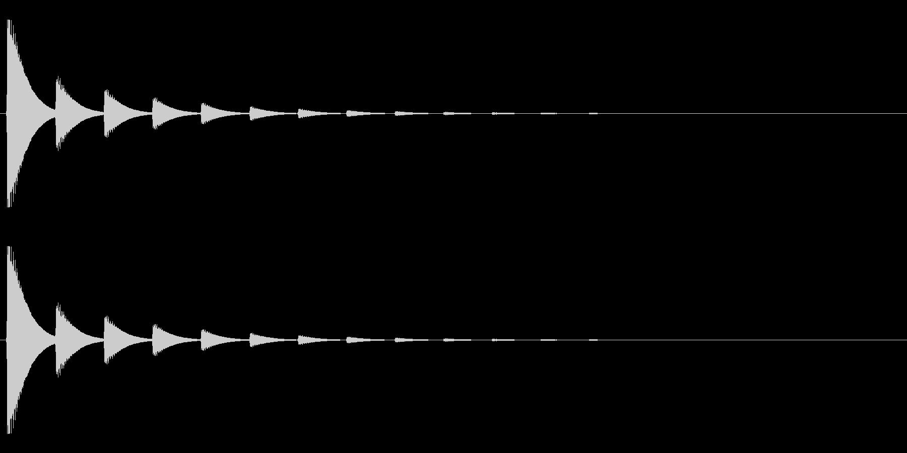 【アクセント05-2】の未再生の波形