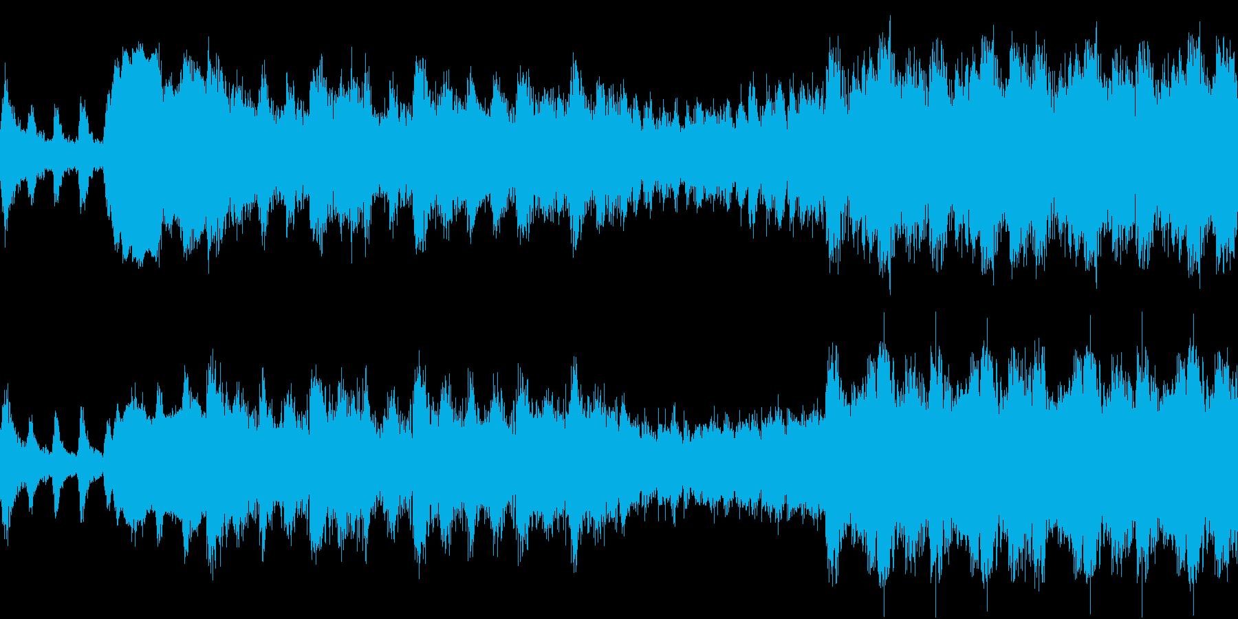 敵軍の行進 緊迫のオーケストラ ループの再生済みの波形