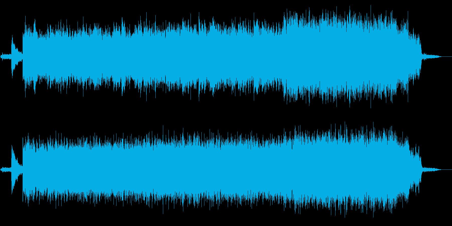 民俗楽器を使って幻想的にした大河の流れの再生済みの波形