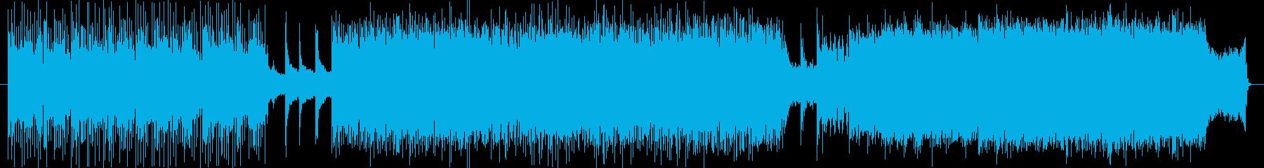 akanteの編曲版の再生済みの波形