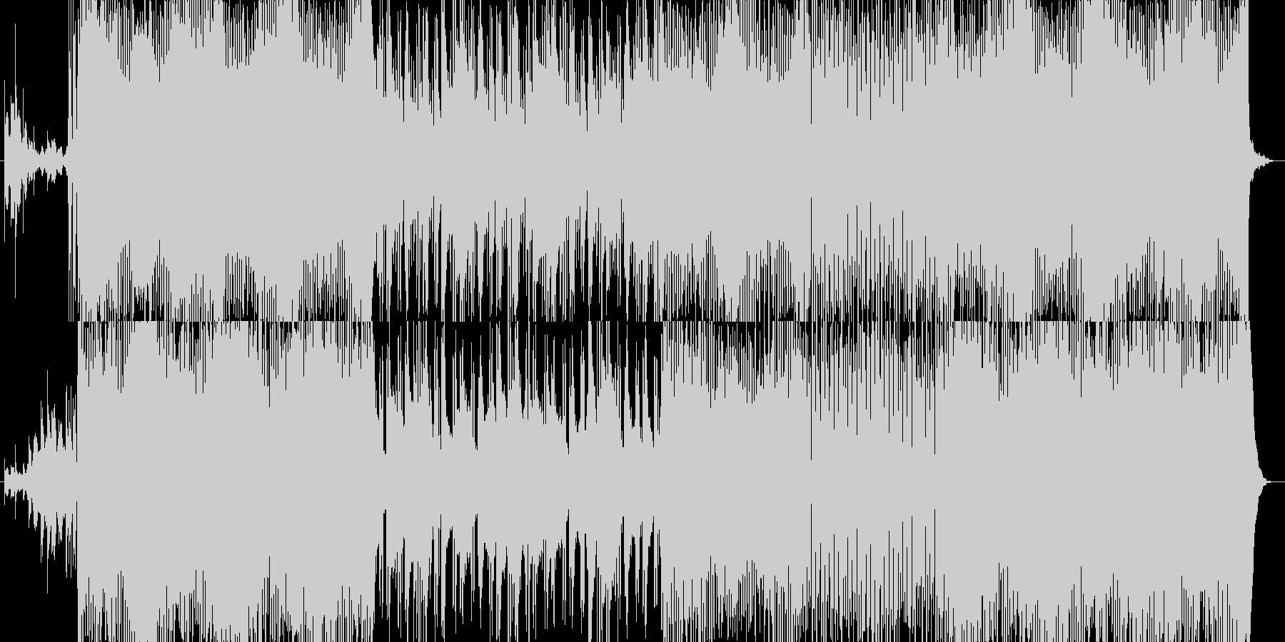 【ピアノ】夏 海 爽やか【ギター】の未再生の波形