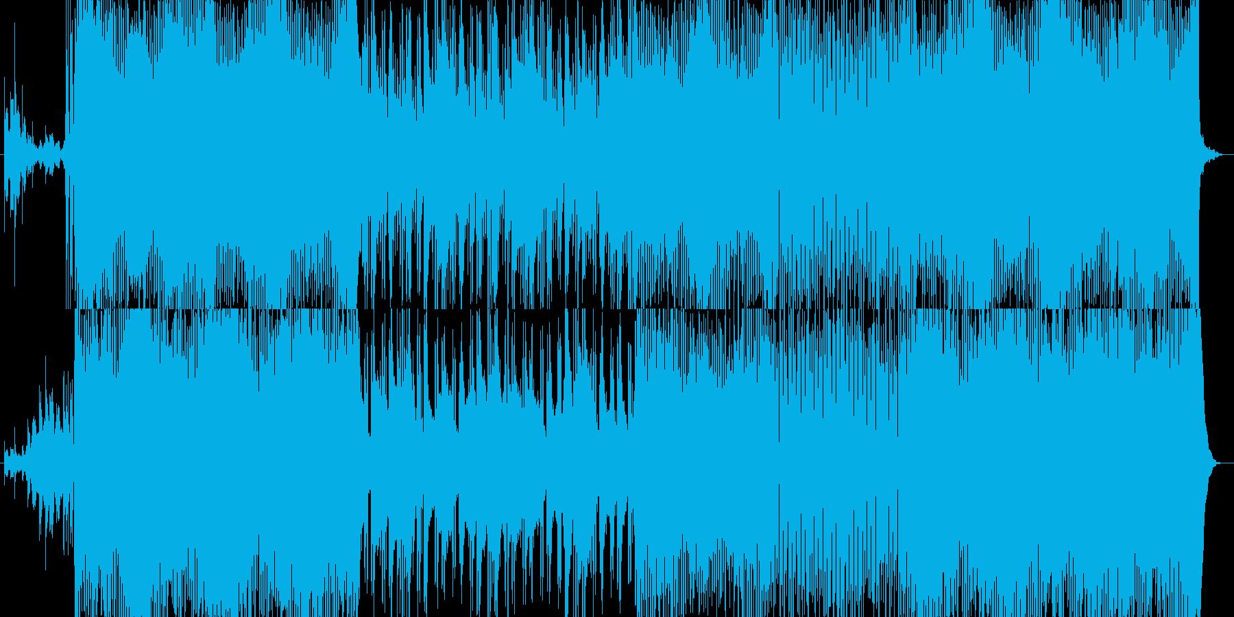 【ピアノ】夏 海 爽やか【ギター】の再生済みの波形