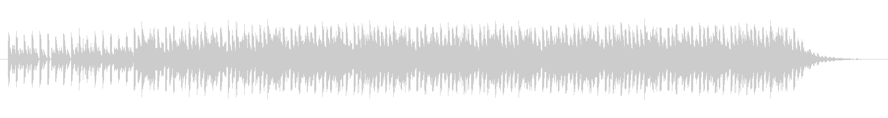 ショートBGM:テクノポップ01の未再生の波形
