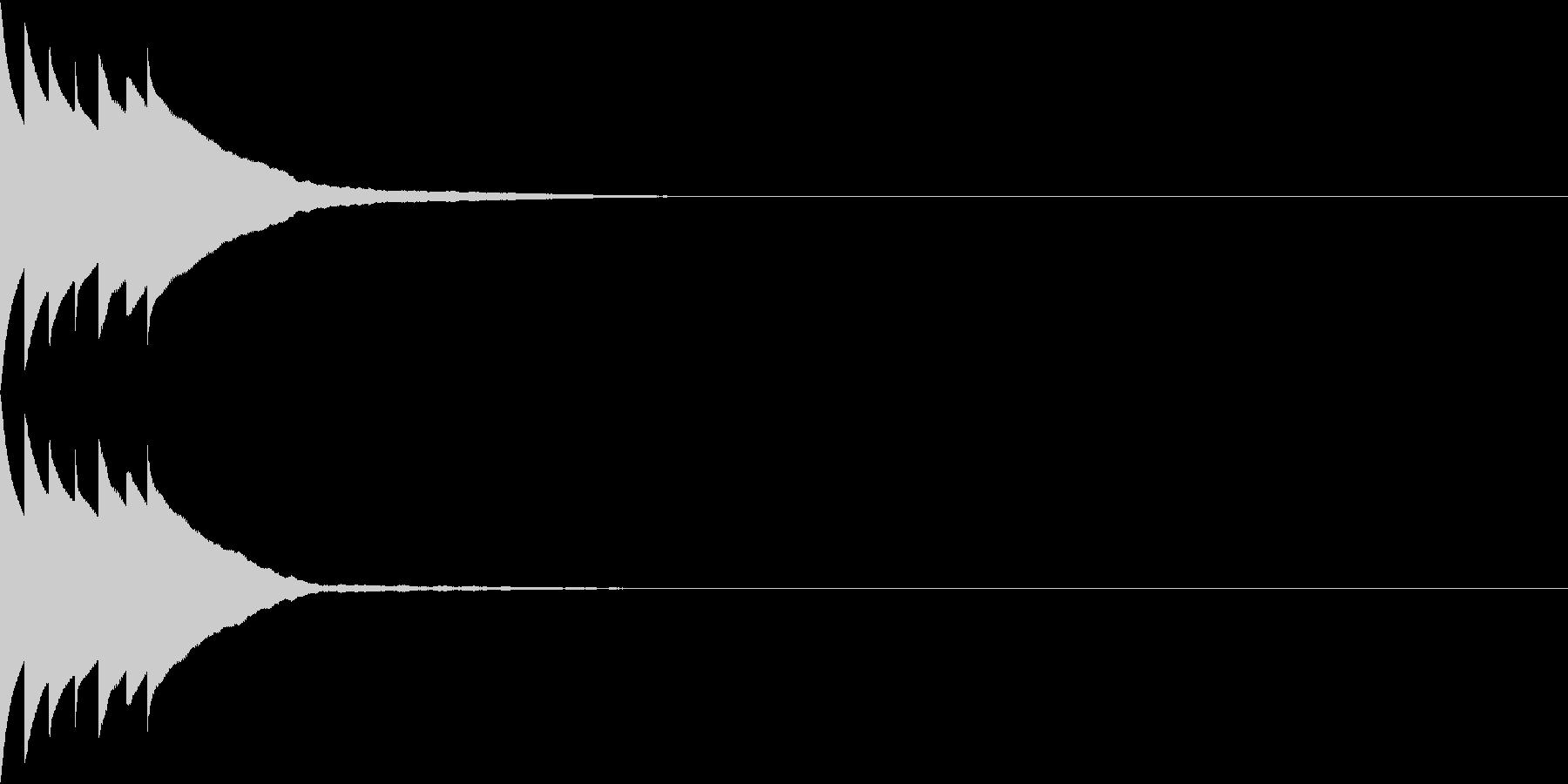 Bank 汎用性のある通知・認証音 22の未再生の波形