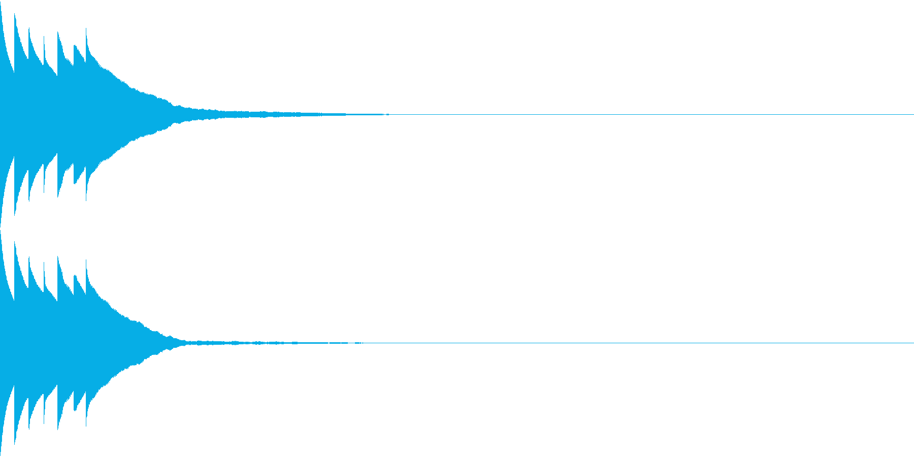 Bank 汎用性のある通知・認証音 22の再生済みの波形