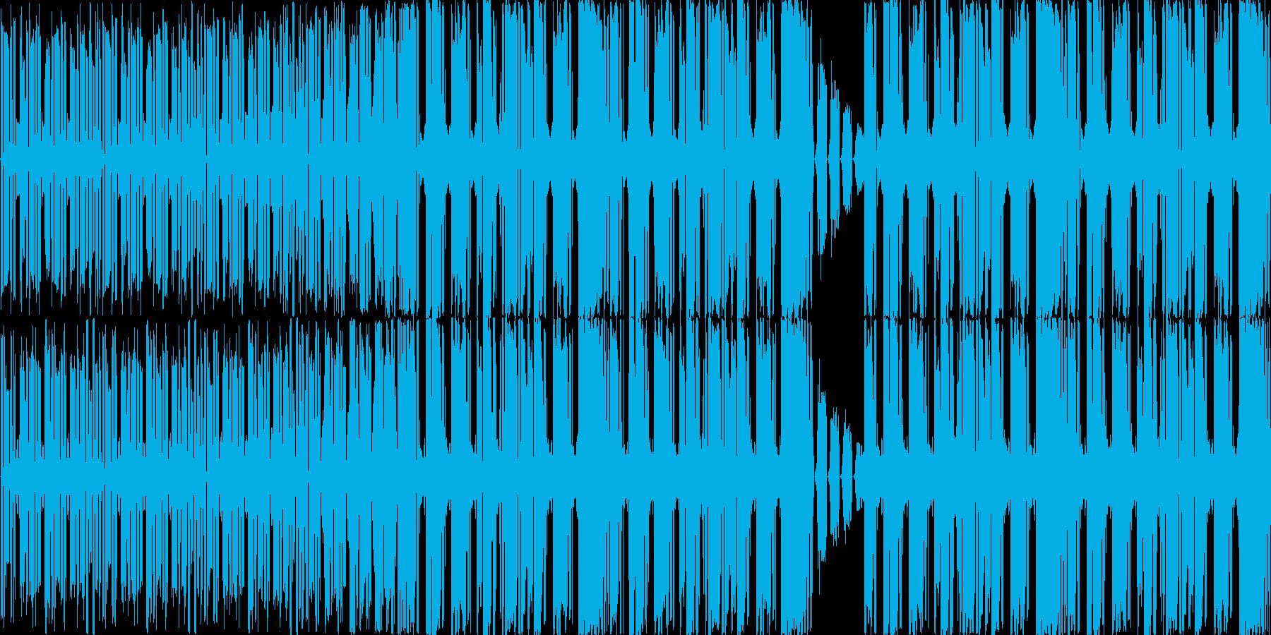 【サイバー/近未来/ダブステップ】の再生済みの波形