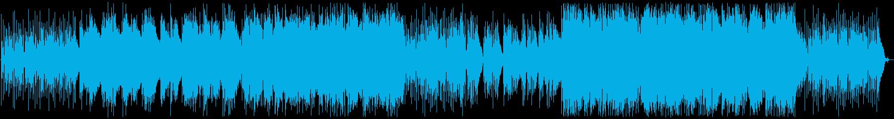 フルアコメインの、パーカッション・ウッ…の再生済みの波形