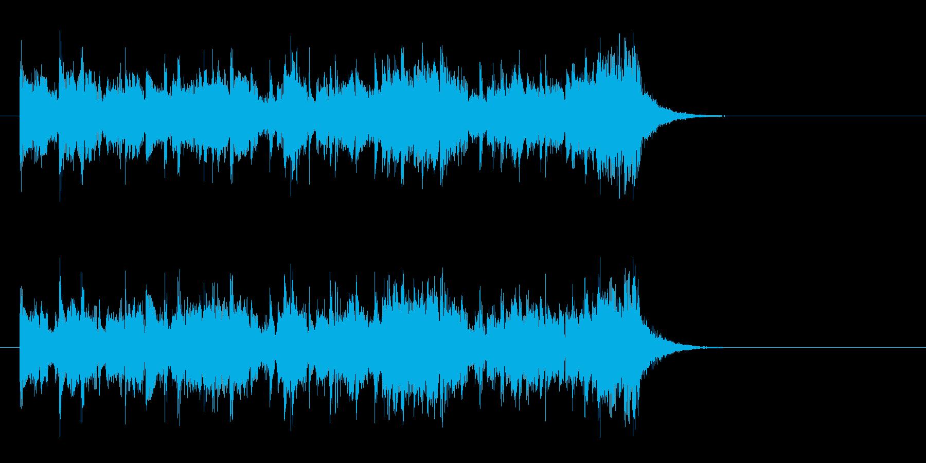 夜のピアノフュージョン(イントロ)の再生済みの波形