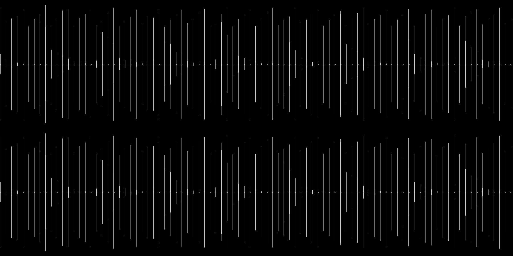 1秒を刻む音です。時計の音などに使用で…の未再生の波形