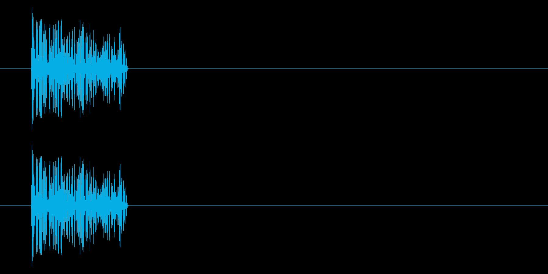 SNES シューティング02-05(爆弾の再生済みの波形