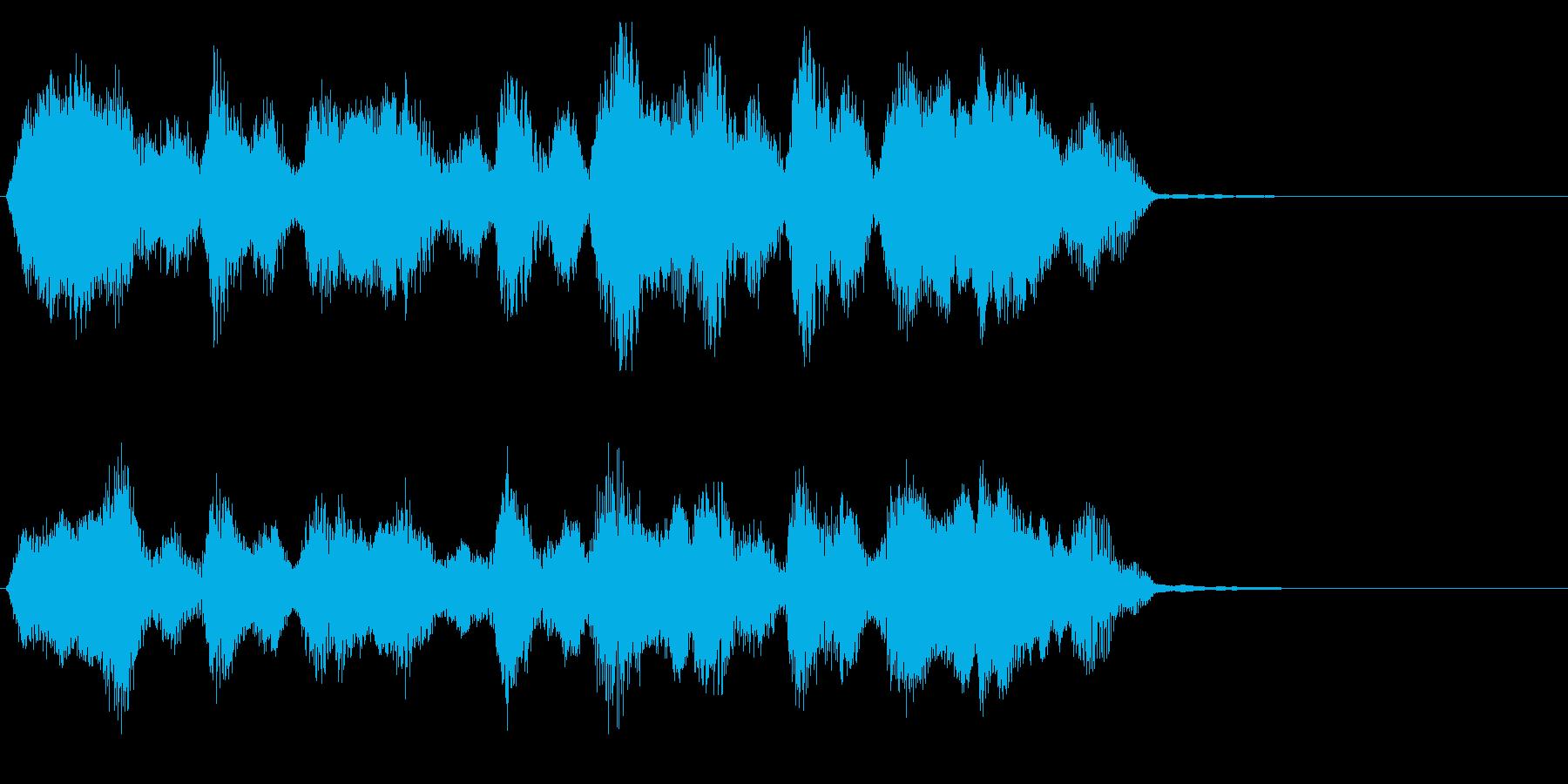 リザルト画面などの再生済みの波形