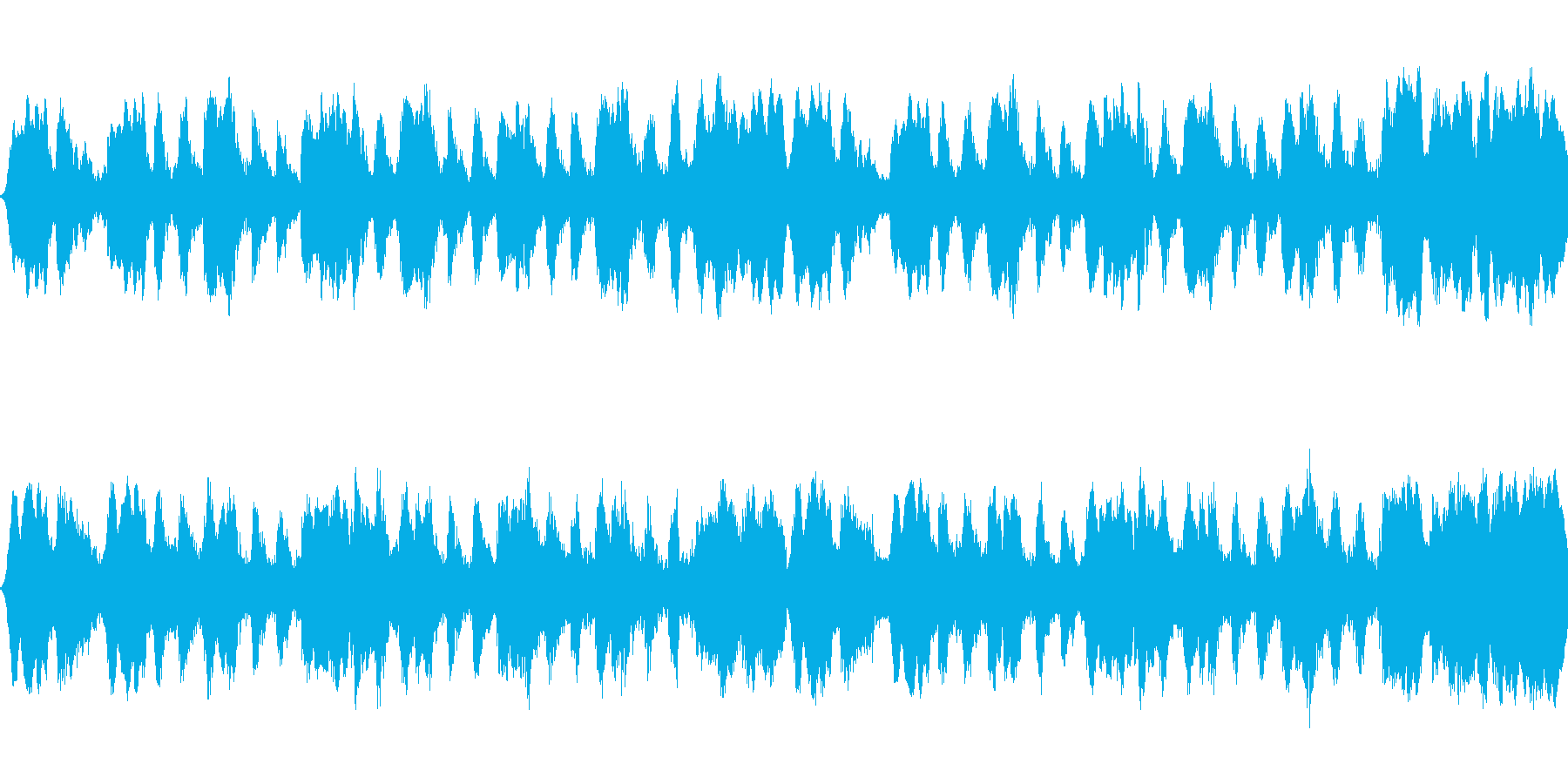 ピーカンサニーデイの再生済みの波形