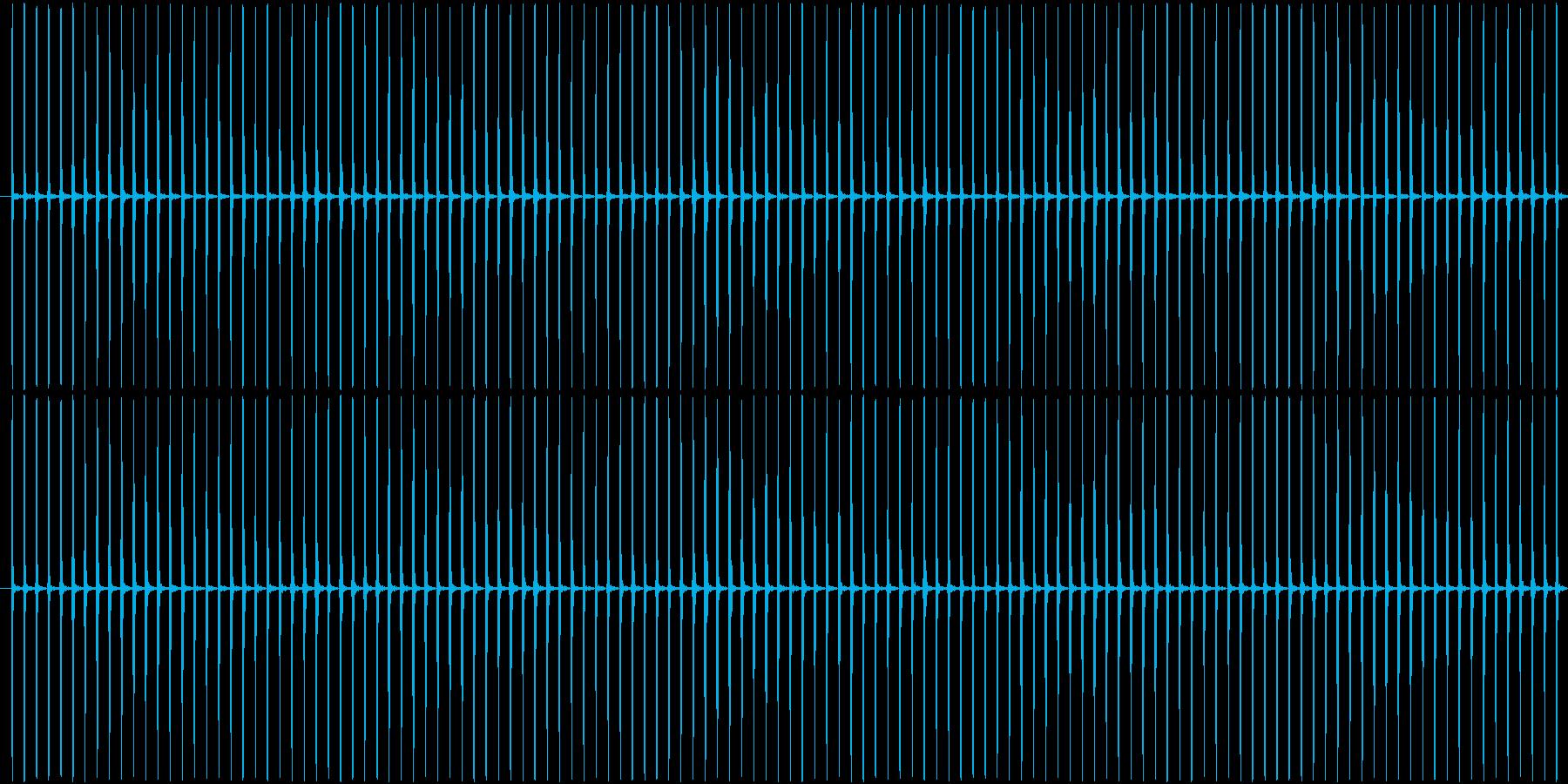 (チッチッ)ストップウォッチの秒針音Aの再生済みの波形