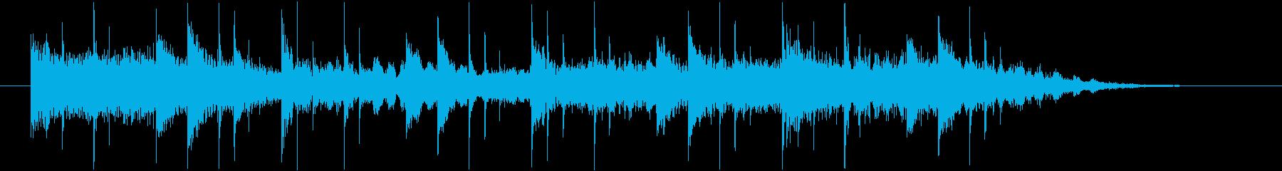 コーナータイトル_ふんわりアンビエント2の再生済みの波形