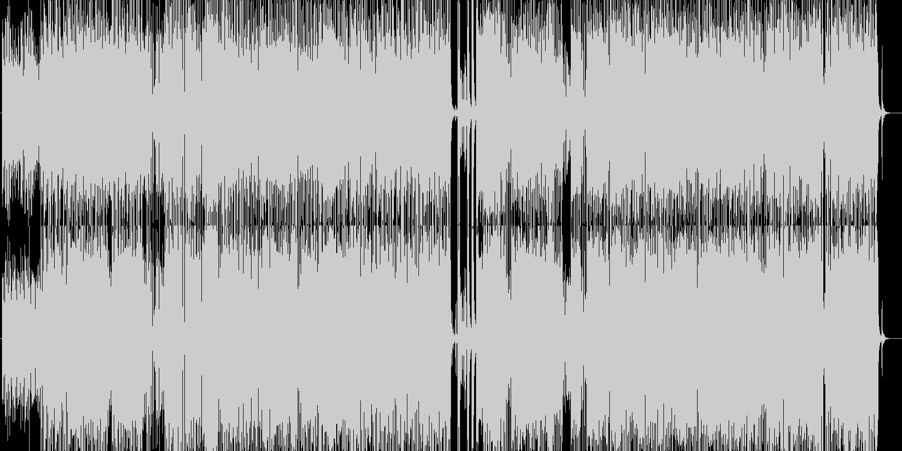 迷子の隼、無軌道ジャズフュージョンの未再生の波形