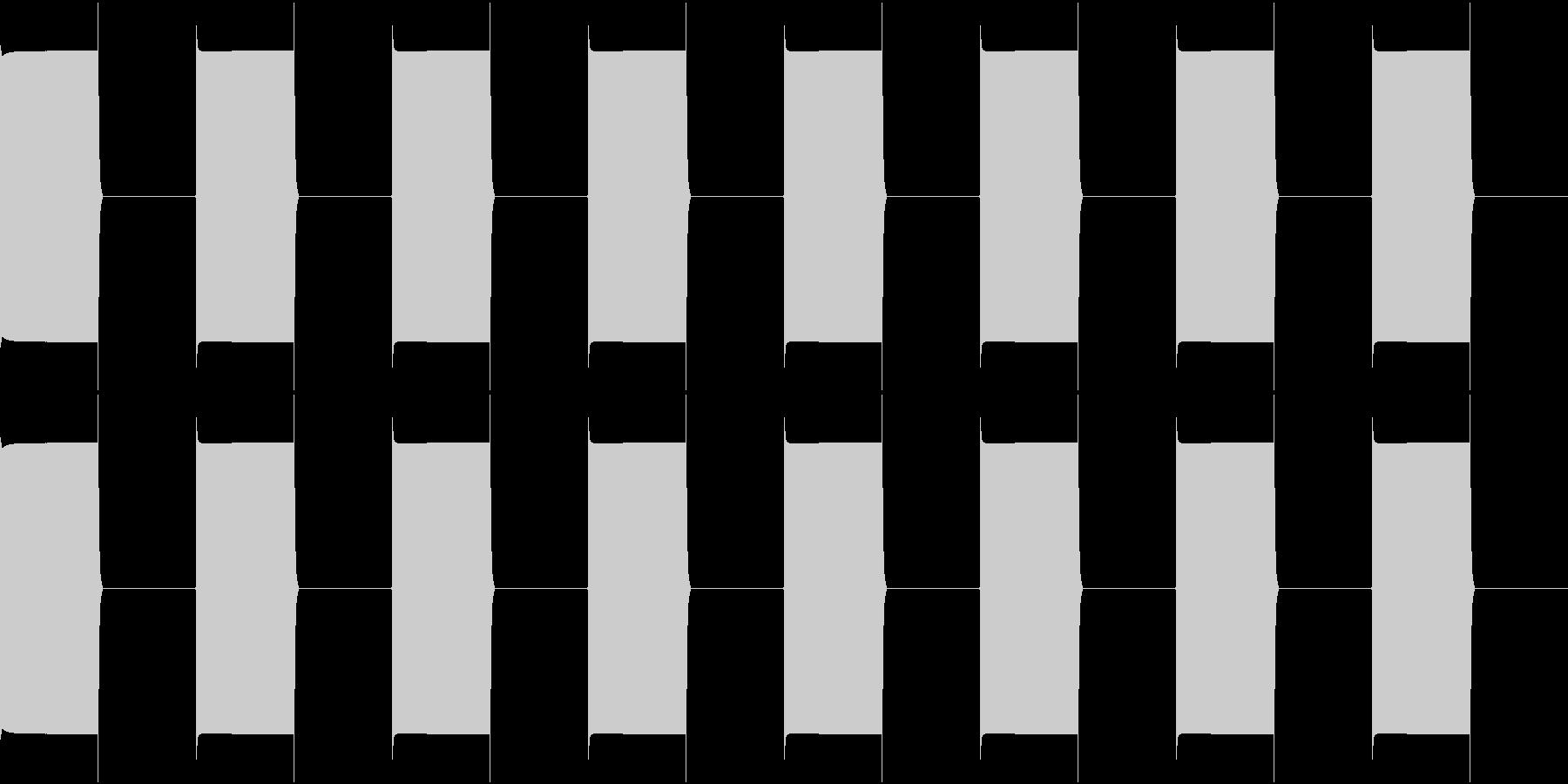 TEL 話し中のベル音 1 繋がらないの未再生の波形
