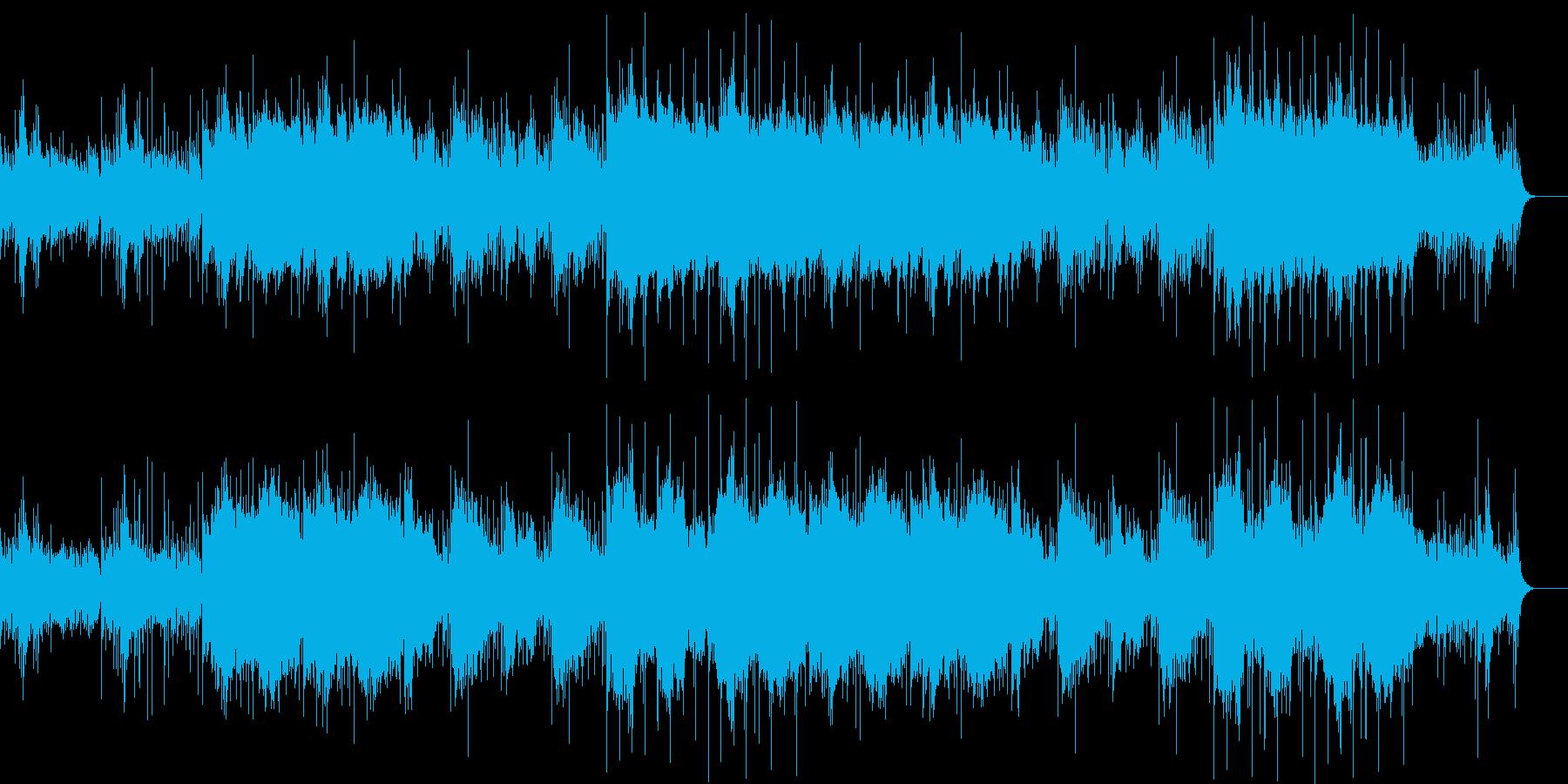 ケルト風BGMですの再生済みの波形