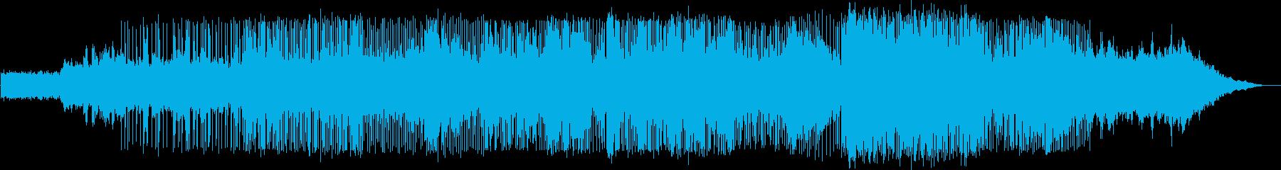 不思議でアンビエントなエレクトロの再生済みの波形