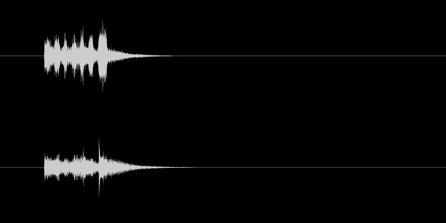 トランペット 変 コミカル 楽しいの未再生の波形