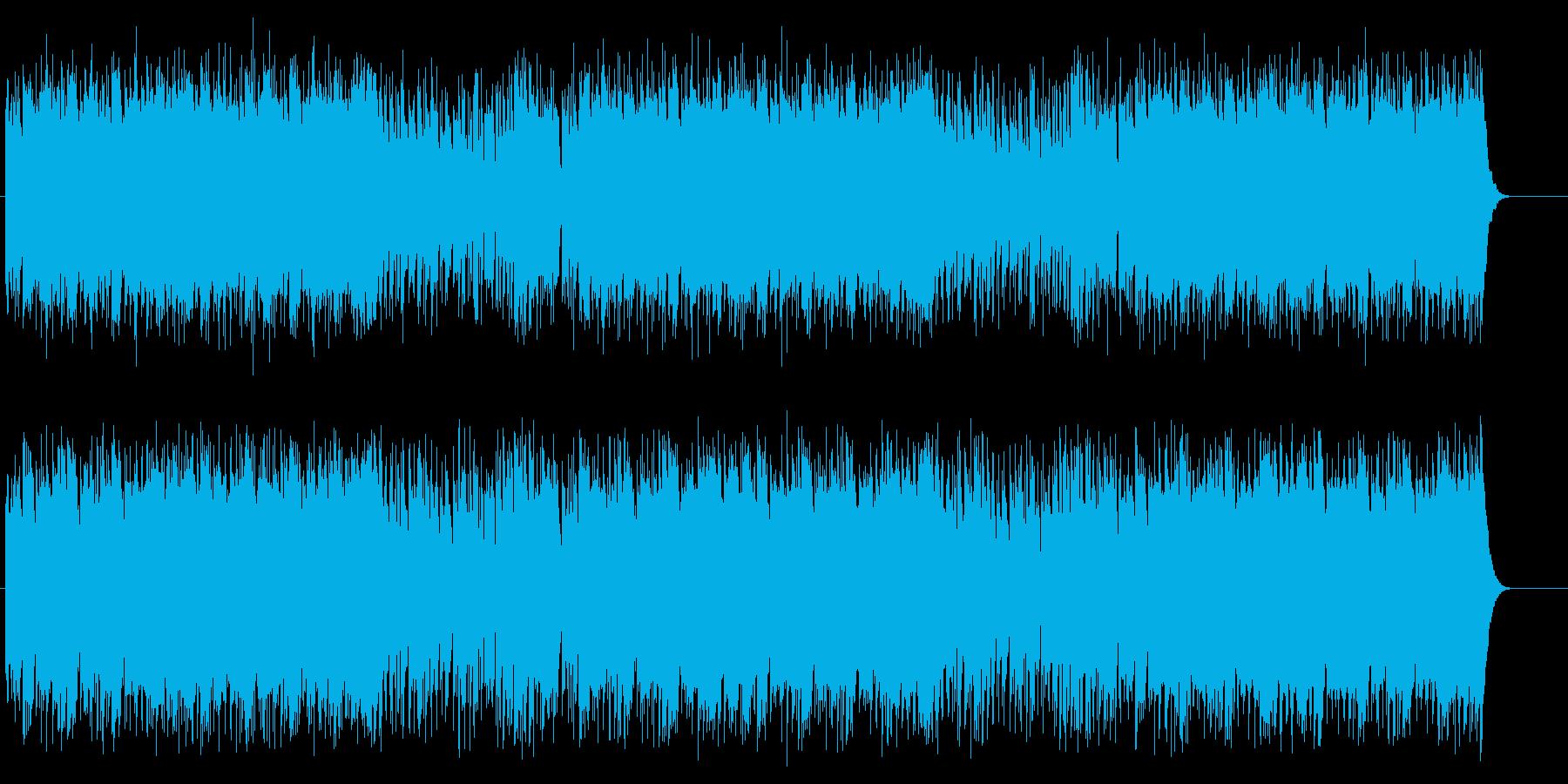 晴れ渡ったイメージのポップ/フュージョンの再生済みの波形