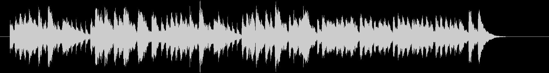 リコーダーが奏でるヒーリングミュージックの未再生の波形