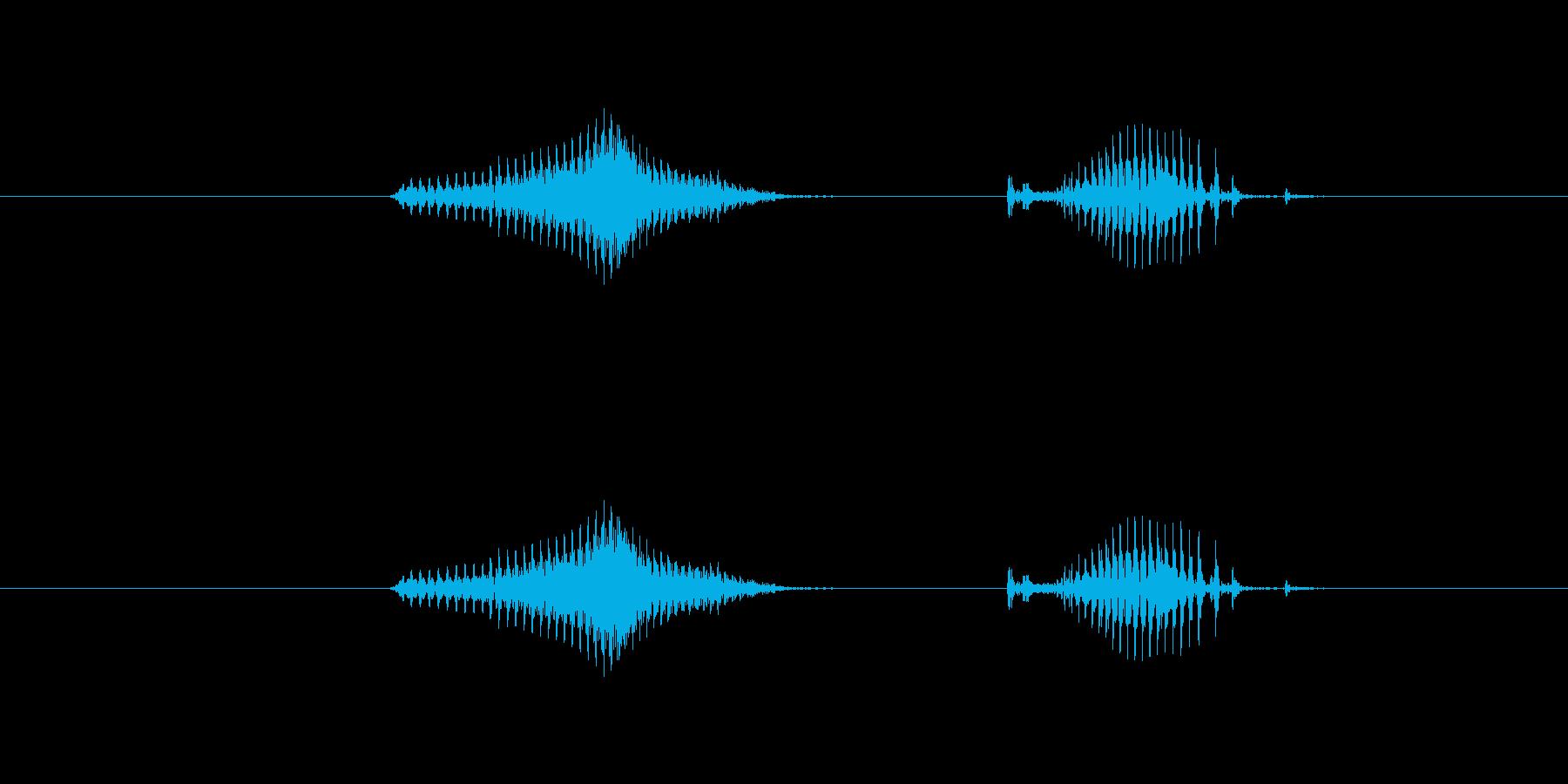 【日】6日の再生済みの波形