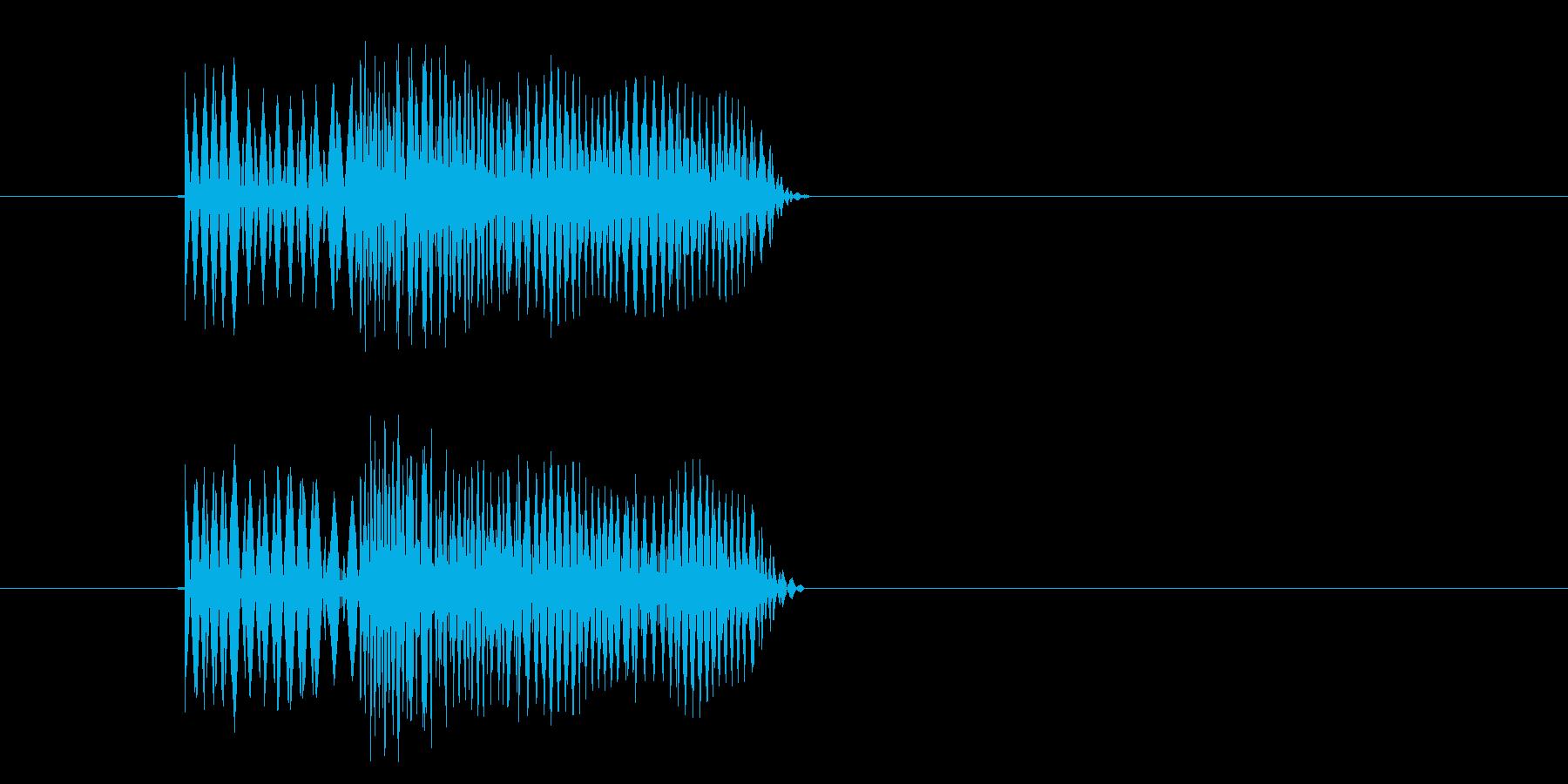 行き止まり_ダメージの再生済みの波形
