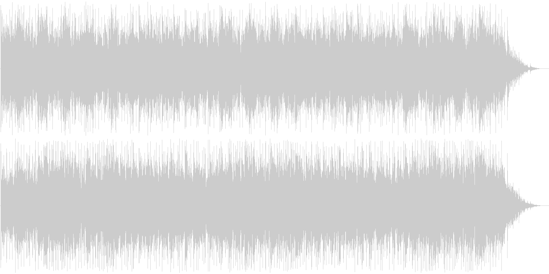 爽やかピアノメイン(新ヴァージョン)の未再生の波形