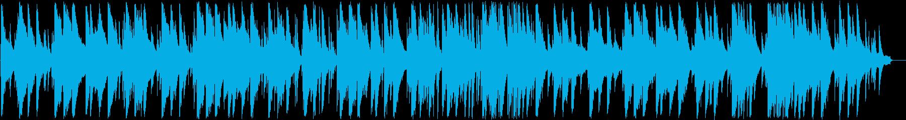 トランペットとピアノの大人ジャズの再生済みの波形