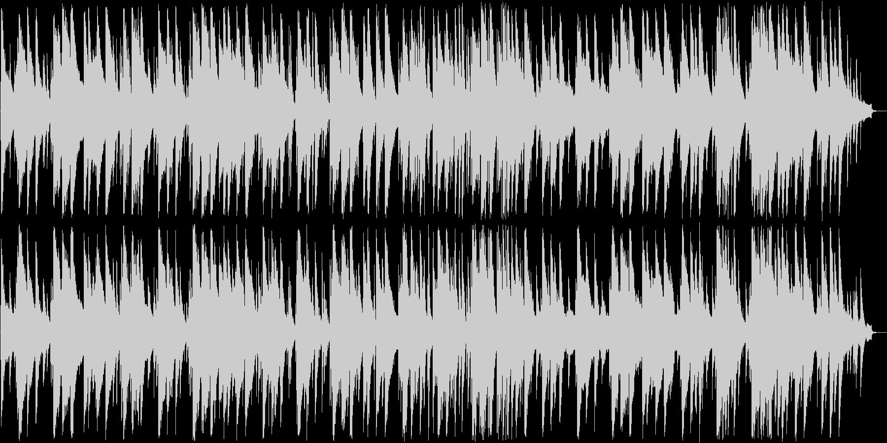 トランペットとピアノの大人ジャズの未再生の波形