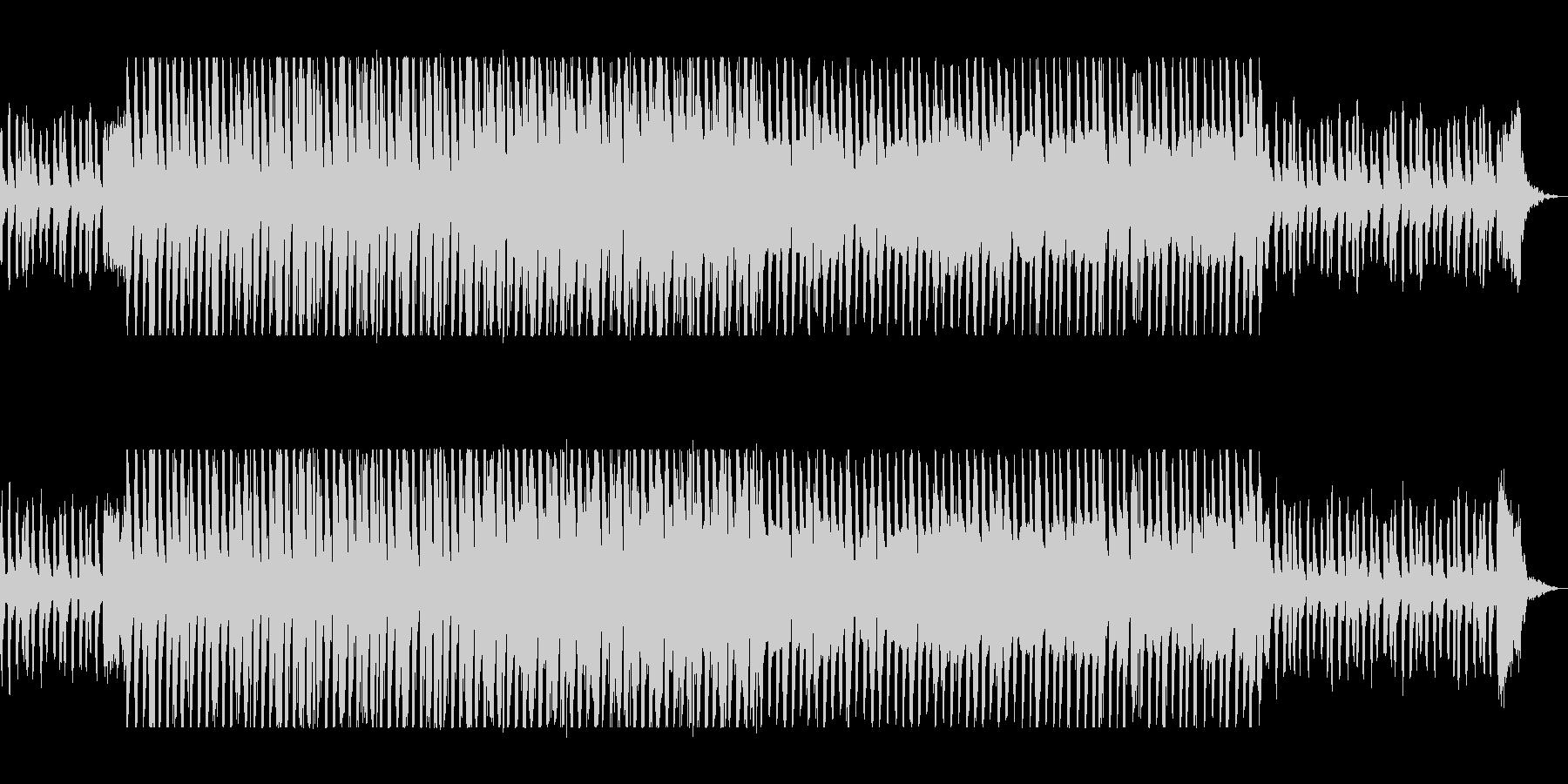 マイナーで軽快なバイオリンテクノポップの未再生の波形