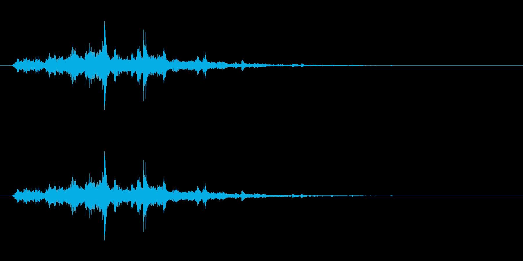 ウィンドチャイム2(シャララーン)の再生済みの波形
