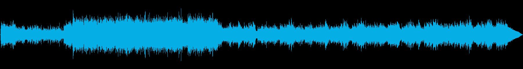 シタールを使ったループ音源の再生済みの波形