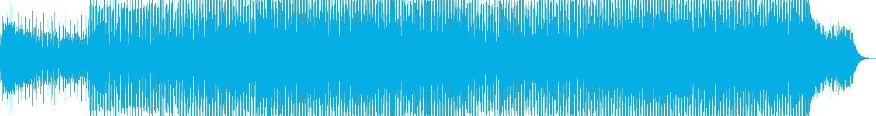 EDMポップで明るいクラブ系-86の再生済みの波形