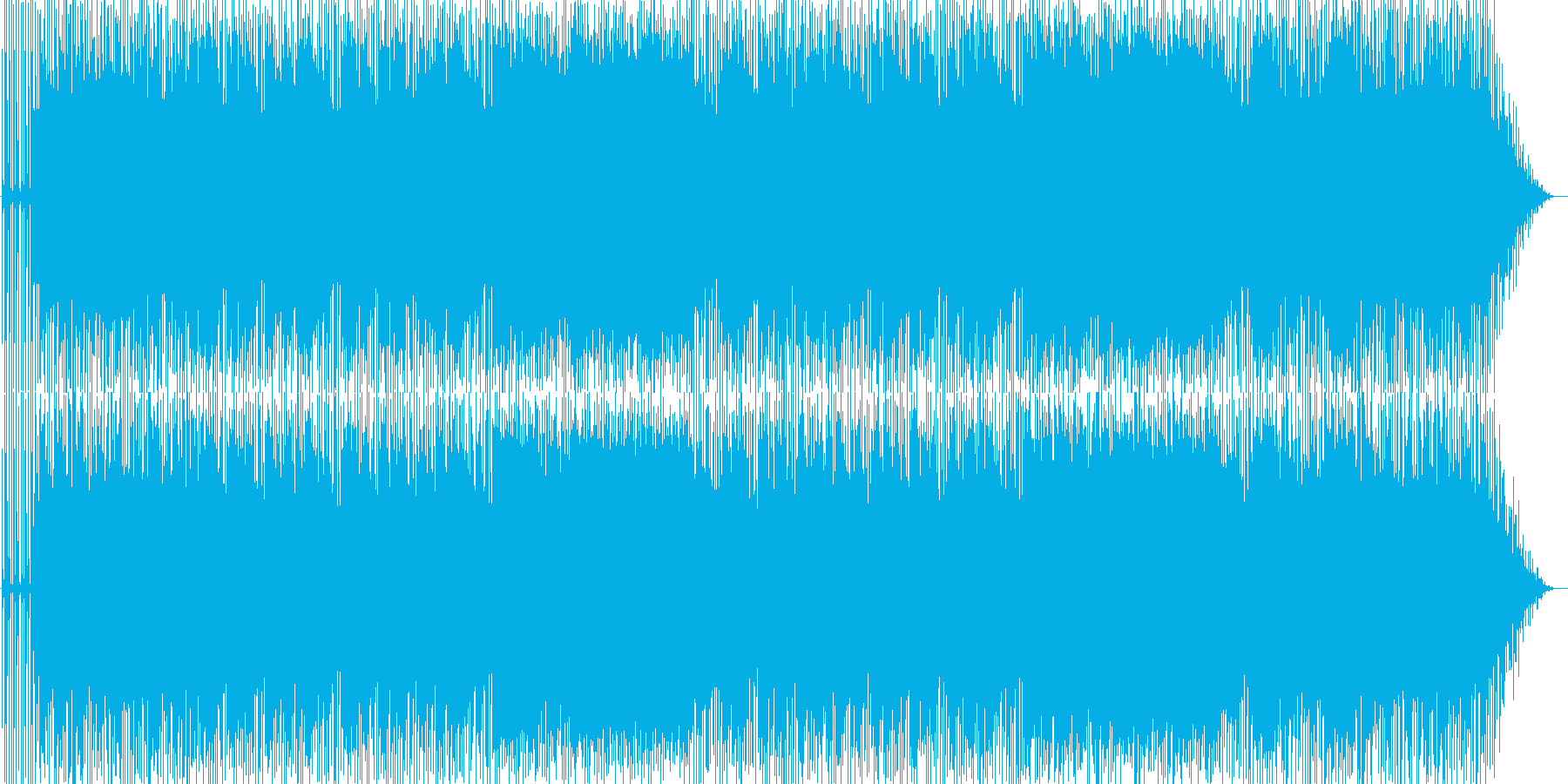 浮遊感漂うスローなギターインスト♪の再生済みの波形