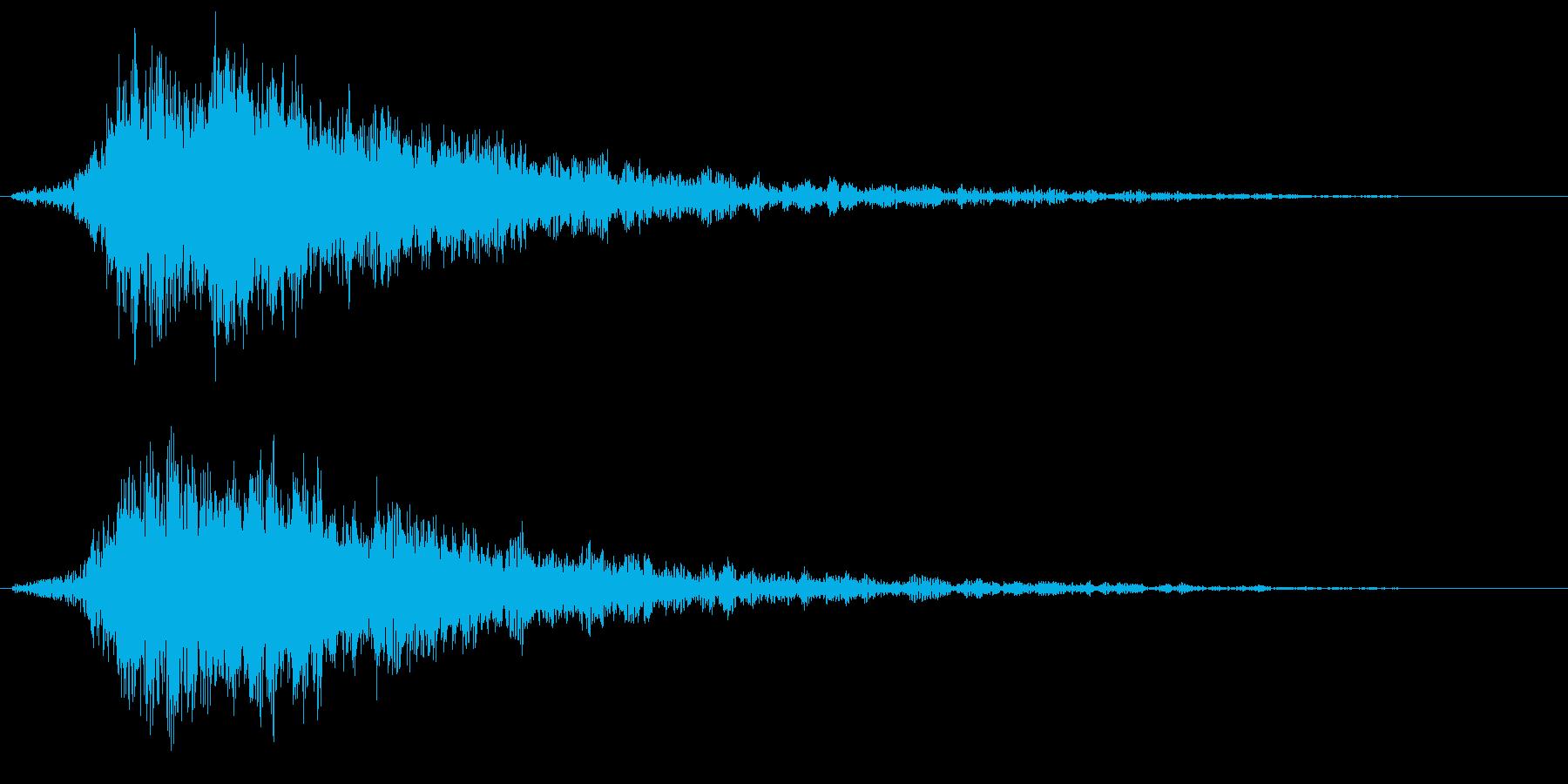 ☆キラキラと光る輝きのインパクト音☆02の再生済みの波形