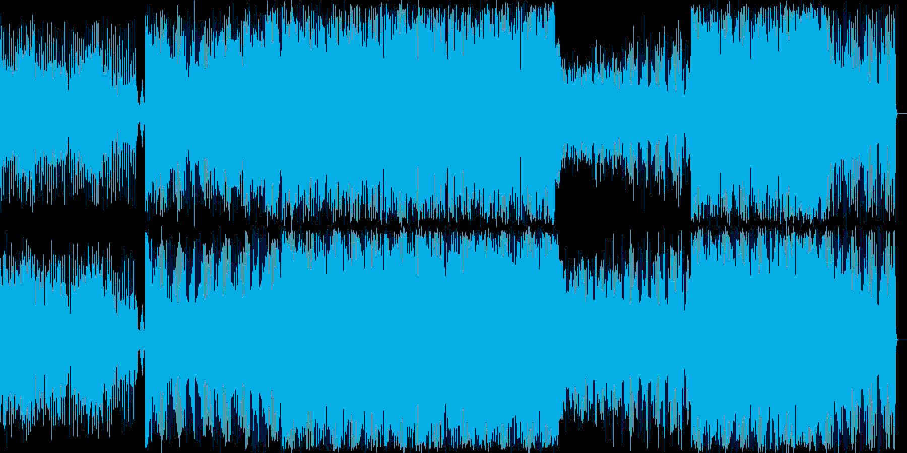 ラストボス、オーケストラ・ハウス系の再生済みの波形