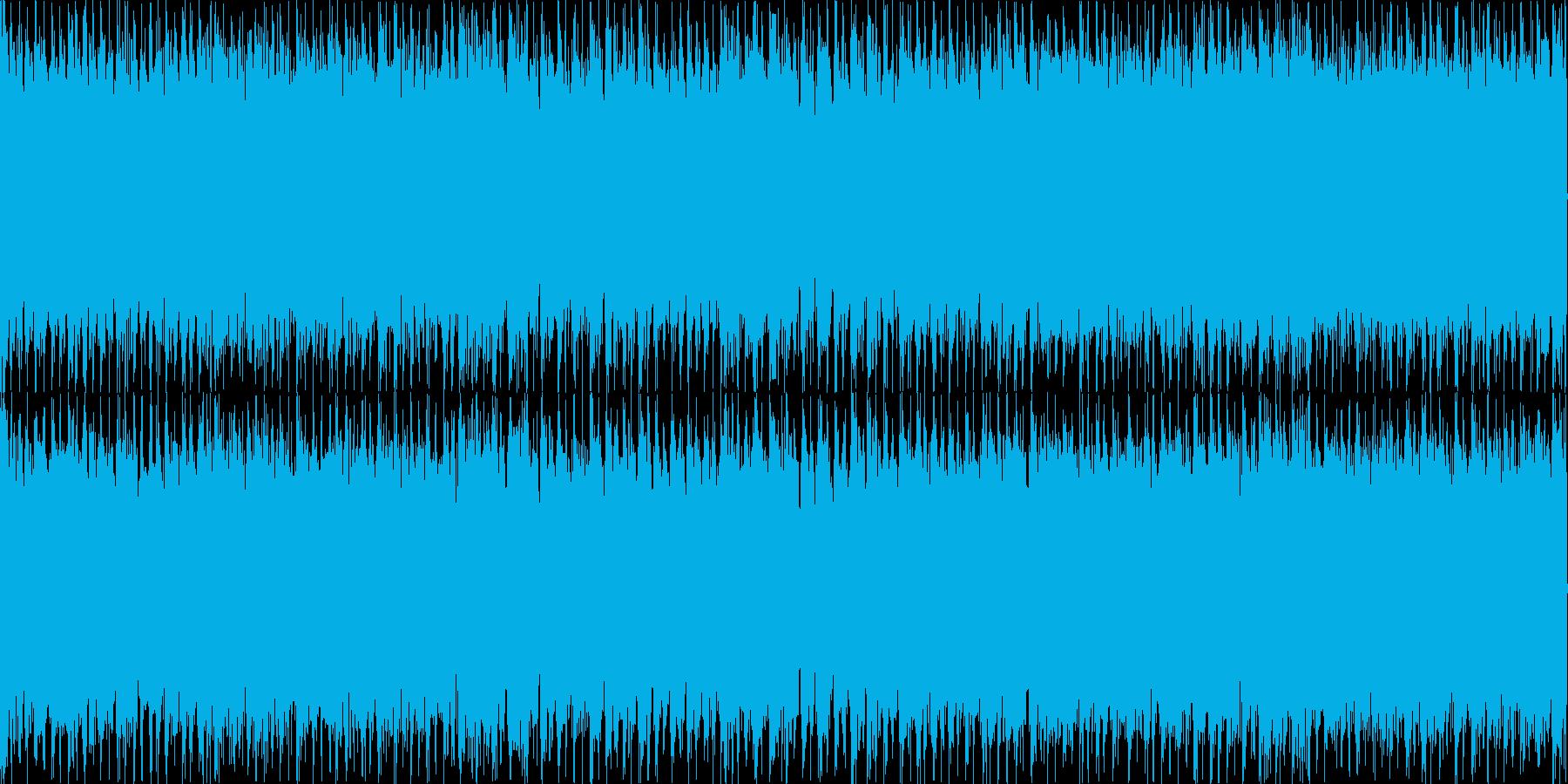 ループ用シューベルト「楽興の時」ロックの再生済みの波形