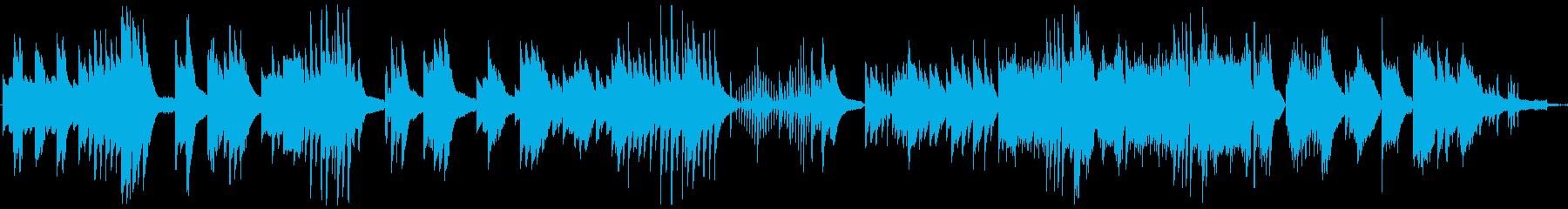 ゲーム音楽の悲しいシーンなどを想定した…の再生済みの波形