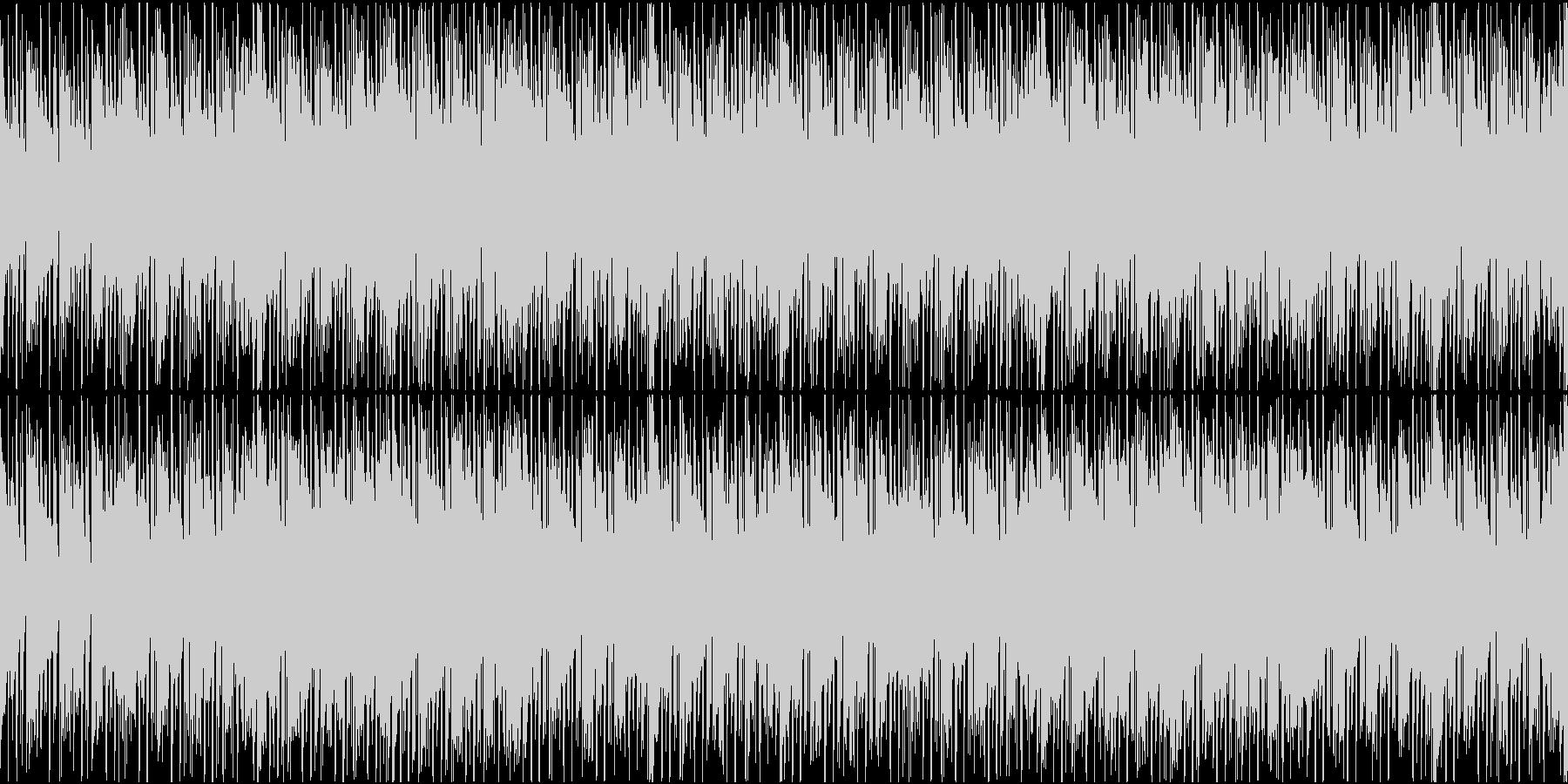 コミカル系な不気味インストの未再生の波形