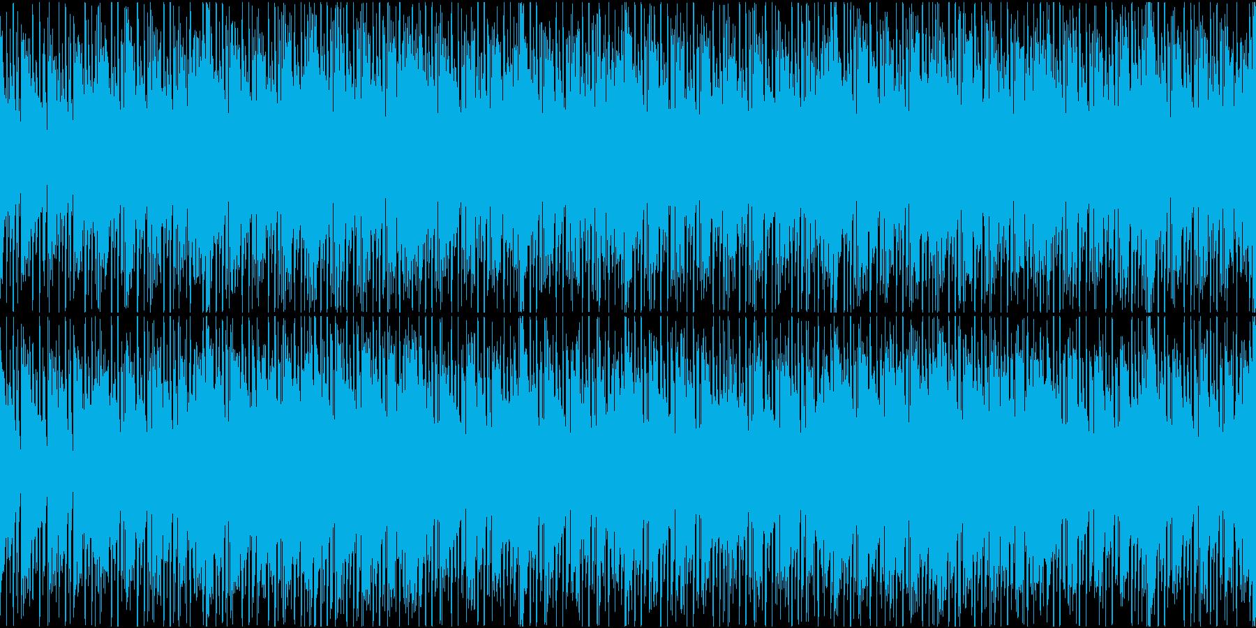 コミカル系な不気味インストの再生済みの波形