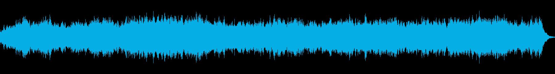 ダークな映像向けのアンビエントです。の再生済みの波形