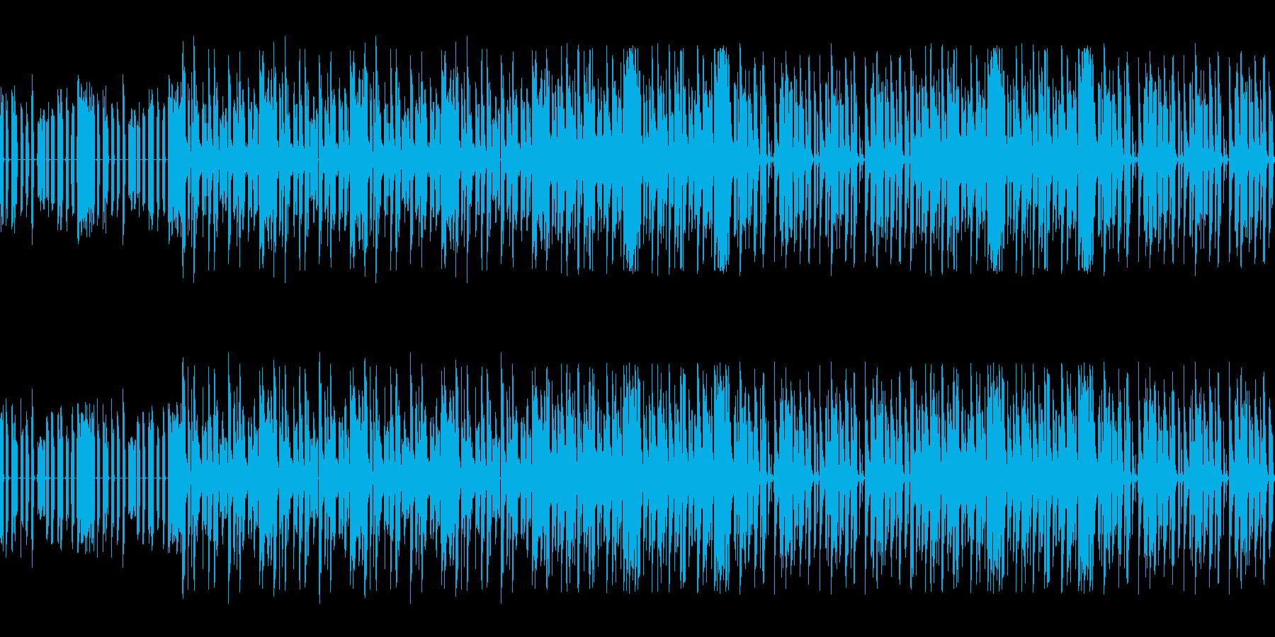 【オルガンメインの軽快なヒップホップ】の再生済みの波形